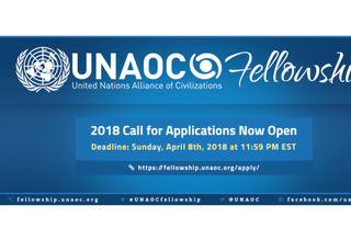 Call for Applications, UNAOC Fellowship Programme 2018