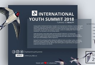 Call for Applications, International Youth Summit 2018 in Tashkent, Uzbekistan