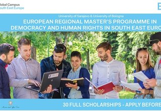 Call for Applications, European Regional Master's Programme in Democracy and Human Rights 2018