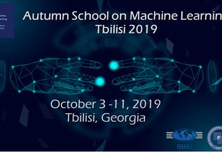 Autumn School on Machine Learning Tbilisi 2019
