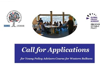 Call for Applications: Young Policy Advisers Course for Western Balkans