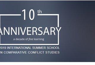 2019 International Summer School in Comparative Conflict Studies in Belgrade, Serbia