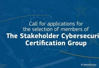 CFA for the selection of members of the Stakeholder Cybersecurity Certification Group