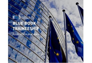 Applications for the European Commission Blue Book traineeship have just opened