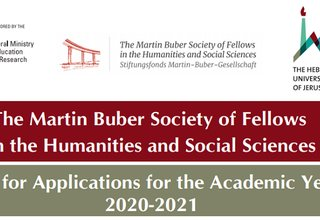 The Martin Buber Society of Fellows in the Humanities and Social Sciences