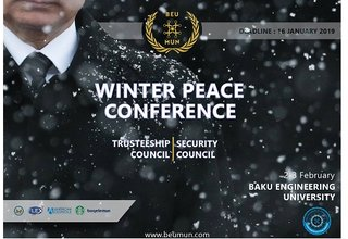 Call For Applications for Winter Peace Conference 2019 in Baku, Azerbaijan