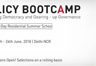 Call for Applications, Policy BootCamp 2018 in Delhi, India