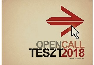 Call for Applications, TESZT 2018 in Romania