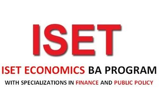 ISET Economics BA Program with Specializations in Finance and Public Policy 2018