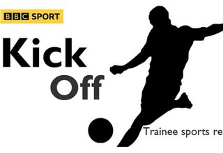 Calling all Young Reporters. The BBC has openings for its Trainee Sports Reporter scheme