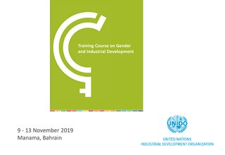 2019 Training course on Gender and Industrial Development in Manama, Bahrain
