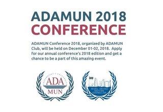 Call for Applications, Model UN Conference – ADAMUN 2018 in Baku, Azerbaijan