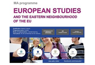 "MA Programme in ""European Studies and the Eastern Neighbourhood of the EU"""