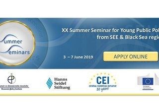 Call for Applications for 2019 Summer Seminar for Young Public Policy Professionals