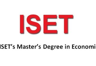 Call for Applications, ISET's Master's Degree in Economics 2018
