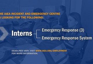 Internship Program | Incident and Emergency System | IAEA