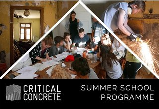 Call for Applications, Critical Concrete Summer School 2018