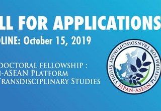 2020 Postdoctoral Fellowship: Japan-ASEAN Platform for  Transdisciplinary Studies