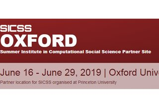 Call for Applications for Summer Institute for Computational Social Science at Oxford University